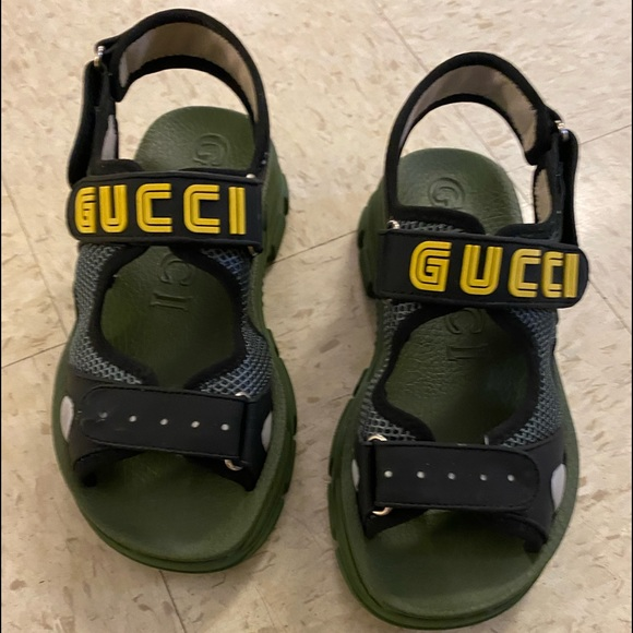 Green Gucci Sandals | Poshmark